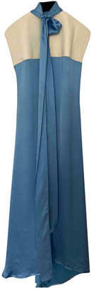 Loewe Blue Viscose Dresses