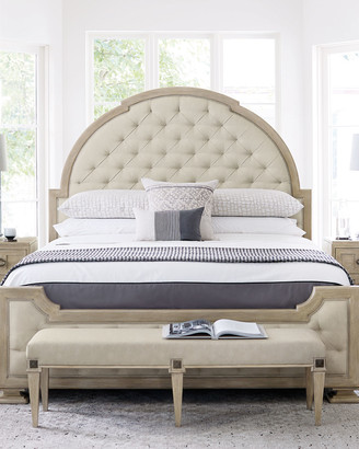 Bernhardt Santa Barbara Tufted California King Bed
