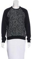 Giambattista Valli Tweed Long Sleeve Sweater w/ Tags