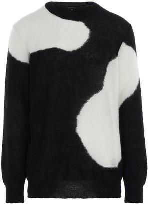 Ann Demeulemeester Contrast Knitted Sweater