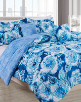 Thumbnail for your product : Melange Home Barbarian Hibiscus Bounty 5Pc Comforter Set