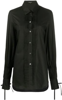 Ann Demeulemeester Pleated Detail Shirt