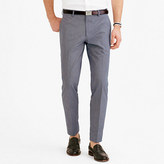 Ludlow Suit Pant In Microstripe Italian Cotton