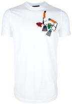 DSquared Dsquared2 appliqué toucan t-shirt