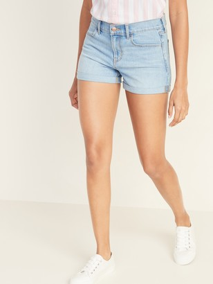 Old Navy Cuffed Jean Shorts for Women - 3-inch inseam