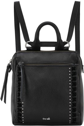 The Sak Loyola Leather Mini Convertible Backpack