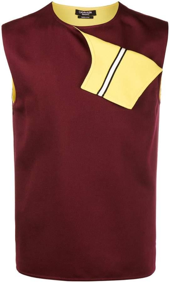 Calvin Klein Fold Flap Vest Top