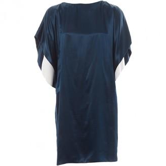 Givenchy Blue Silk Dresses