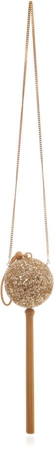 Oscar de la Renta Billiard Sequin-Embellished Bag