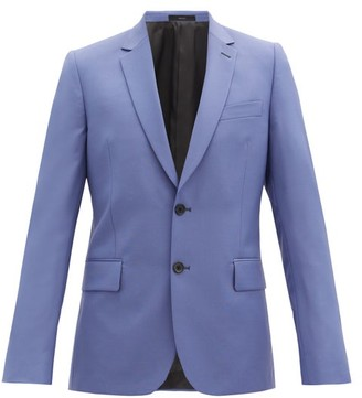 Paul Smith Single-breasted Soho-fit Wool-blend Jacket - Light Purple