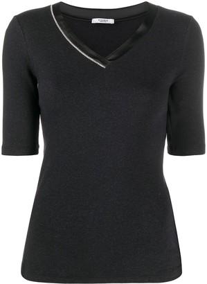 Peserico Knitted V-Neck Top