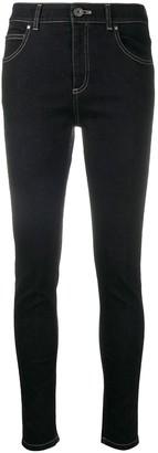 Lorena Antoniazzi Contrast-Stitching Skinny Jeans