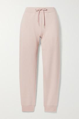 HANDVAERK Pima Cotton-terry Track Pants - Pastel pink