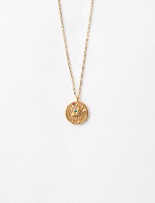 "Maje Necklace with medallion ""Mon oiseau"""