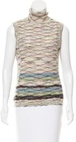 M Missoni Sleeveless Wool Top
