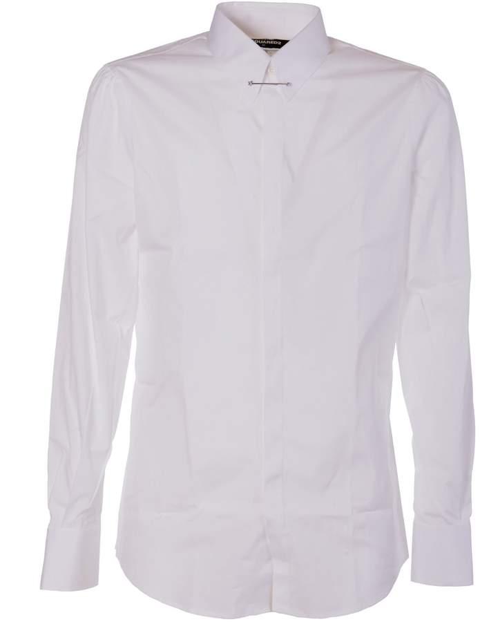 DSQUARED2 Brooch Shirt