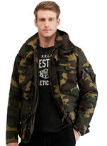 Ralph Lauren Camo Hooded Utility Jacket
