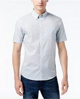 Michael Kors Men's Slim-Fit Micro-Geometric Shirt