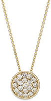 Effy Trio by Diamond Disc Pendant Necklace (1/4 ct. t.w.) in 14k White, Rose or Yellow Gold