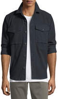 J Brand Muttnik Twill Shirt Jacket