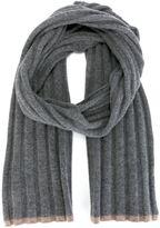 Brunello Cucinelli cashmere ribbed scarf