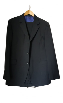 Givenchy Black Wool Suits
