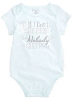 First Impressions Nobody Sleeps Bodysuit, Baby Boys & Girls (0-24 months), Created for Macy's