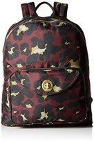 Baggallini Brussels Laptop Scrlt Cheetah Backpack