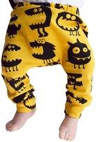 Flank Toddler Baby Boy Dinosaurs Print Elasticity Long Pants