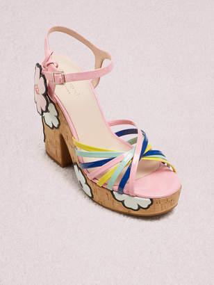 Kate Spade gerry platform sandals