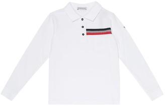 Moncler Enfant Cotton polo shirt