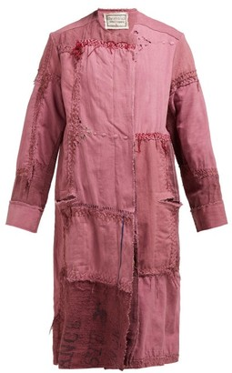 By Walid Azza 19th-century Linen Coat - Womens - Pink