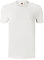 Levi's One Pocket Crew Neck T-shirt, White Smoke