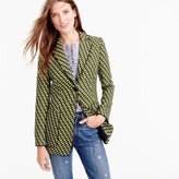 J.Crew Collection blazer in Ratti® geometric tile print