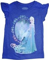 Disney Frozen Elsa Snow Queen Girls Shirt (X-Small)