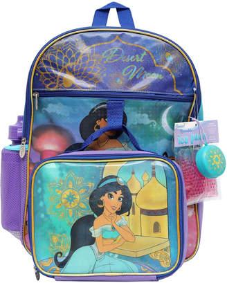 Disney Jasmine 5-Piece Backpack Set