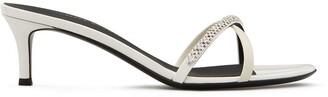 Giuseppe Zanotti Crystal-Embellished Low Sandals