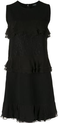 Giambattista Valli Ruffle Trimmed Dress