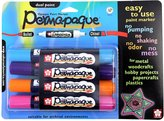 Sakura 48015 4-Piece Permapaque Opaque Blister Card, Dual Point Marker Set, Color