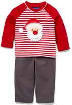 Red & White Stripe Raglan Tee & Pants - Infant