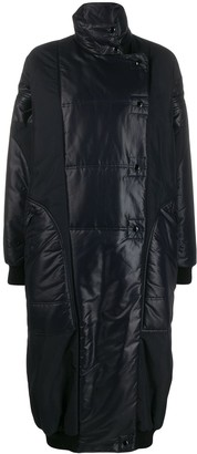 Givenchy oversized high neck quilted parka