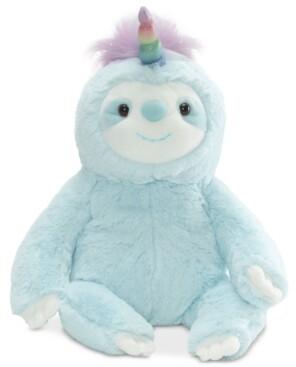 Gund Baby Boys or Girls Dazzle Slothicorn Plush Toy