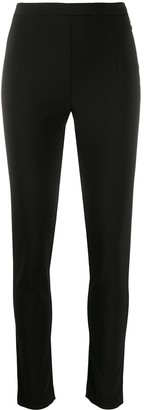 Patrizia Pepe Plain Slim-Fit Leggings