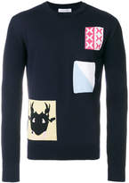 J.W.Anderson patch knit sweater