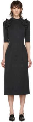 Erdem Black Margaretta Dress
