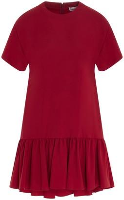 RED Valentino Short-Sleeve Mini Dress