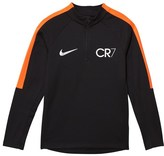 Nike Black CR7 Squad Drill Top