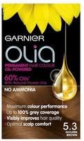 Garnier Olia 5.3 Golden Brown Permanent Hair Dye
