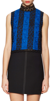 Diane von Furstenberg Bonita Lace Sleeveless Top