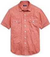 Big & Tall Polo Ralph Lauren Classic Fit Cotton Workshirt